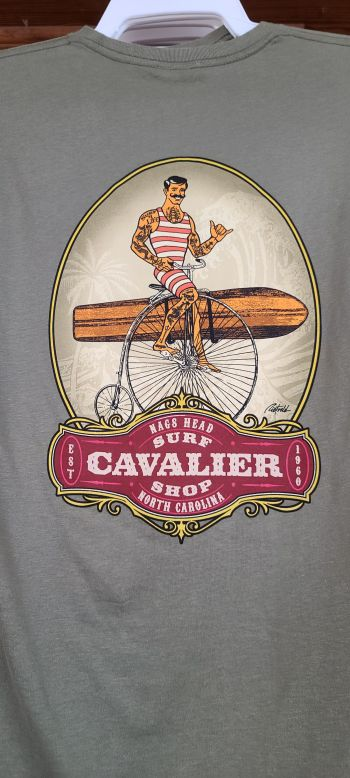 Cavalier Surf Shop, Cavalier Old School Bike T-Shirt