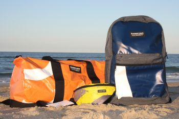 Cavalier Surf Shop, Rareform Bags from Recycled Billboard